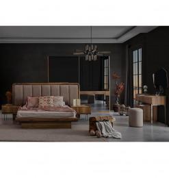 Chambre à coucher bois et...