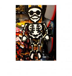 Squelette en mousse avec...