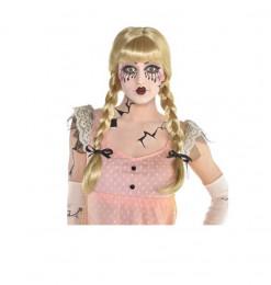 Perruque blonde poupée...