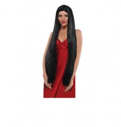 Perruque brune 90cm halloween