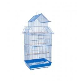 Cage d'oiseau bleue