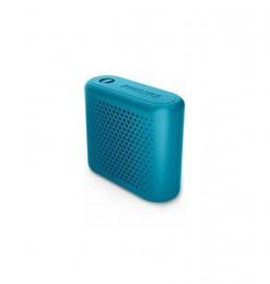 Haut-parleur bleu