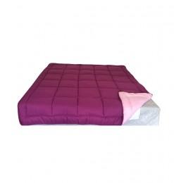 Couette rose et violette