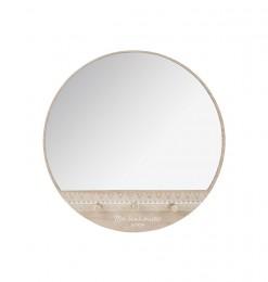 Patères x3 + miroir