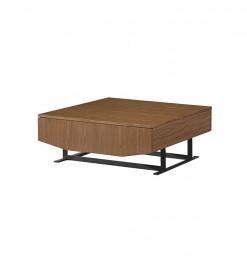 Table à café bois métal
