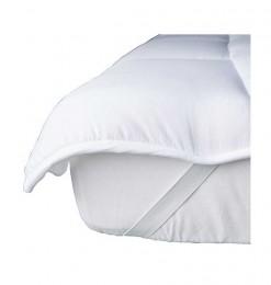 Surmatelas blanc 140x190 cm