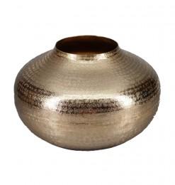 Vase calebasse en métal