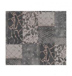 Papier peint gris foncé mixte