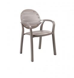 Chaise de jardin taupe