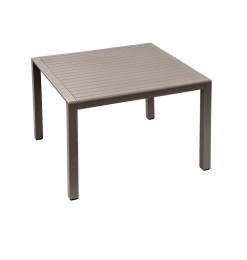 Table d'appoint taupe