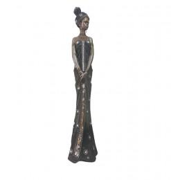Statuette femme africaine