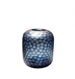 Vase diamant bleu marine