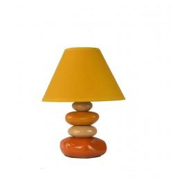 Lampe céramique 4 galets