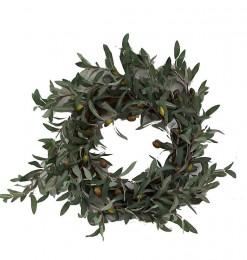 Couronne fleurs d'olivier