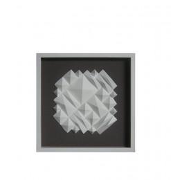 Tableau pyramide blanc