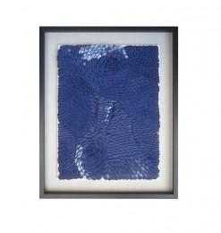 Tableau écaille bleu