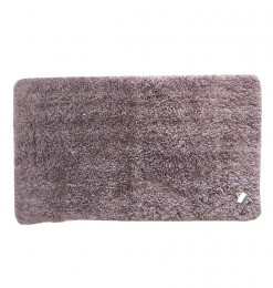 Tapis descente de lit marron