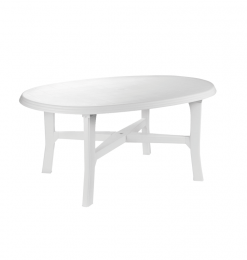 Table jardin ovale