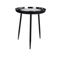 Table ronde noire