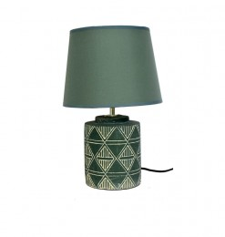 Lampe de table verte