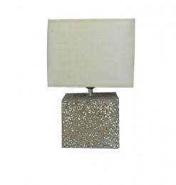 Lampe de table effet pierre