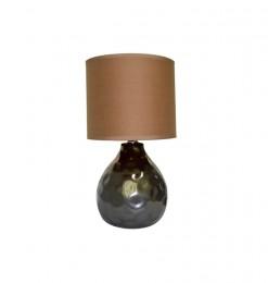 Lampe de table effet métal