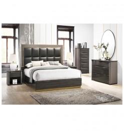 Chambre complète marron gris