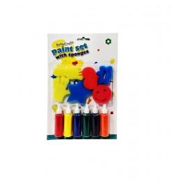 Kit de peinture avec éponge