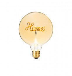 "Ampoule led déco ""home"""