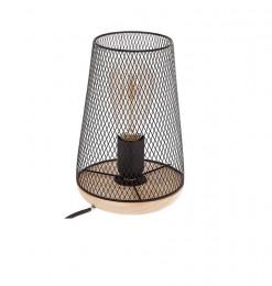 Lampe à poser noire zely