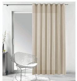 Rideau voilage taupe