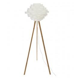 Lampadaire trépied en bambou