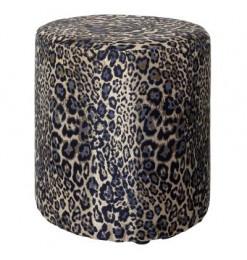 Pouf léopard 45cm