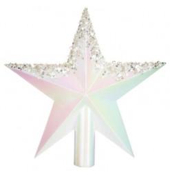 Cimier sapin étoile 22cm