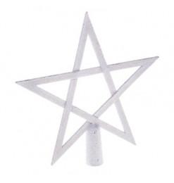 Cimier étoile paillettes 20cm