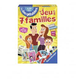 JEUX DE 7 FAMILLES INCOLLABLES