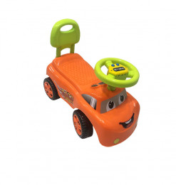 Trotteur voiture orange