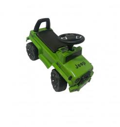 Porteur voiture Jeep vert