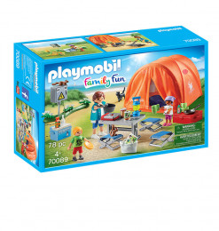 Playmobil Tente et Campeur
