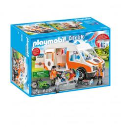 Playmobil Ambulance et...