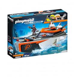 Playmobil Bateau Turbo Spy...