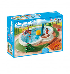 Playmobil Piscine avec douche