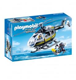 Playmobil Helicoptere et...