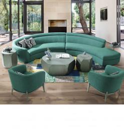 Salon d'angle + 2 fauteuils...