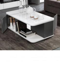 Table à café Bellini gris...