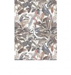 Tapis 160x230cm feuillage