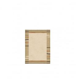 Tapis 80x150cm marron beige