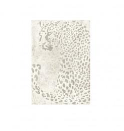 Tapis 160x230cm gris panthère