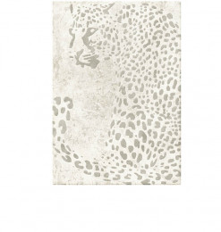 Tapis 200x290cm gris panthère