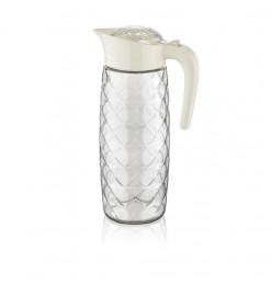 Pichet blanc 1600ml en verre